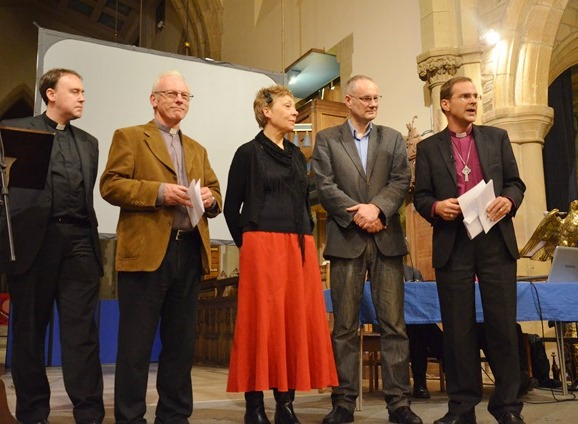 Bishop Toby commissions group