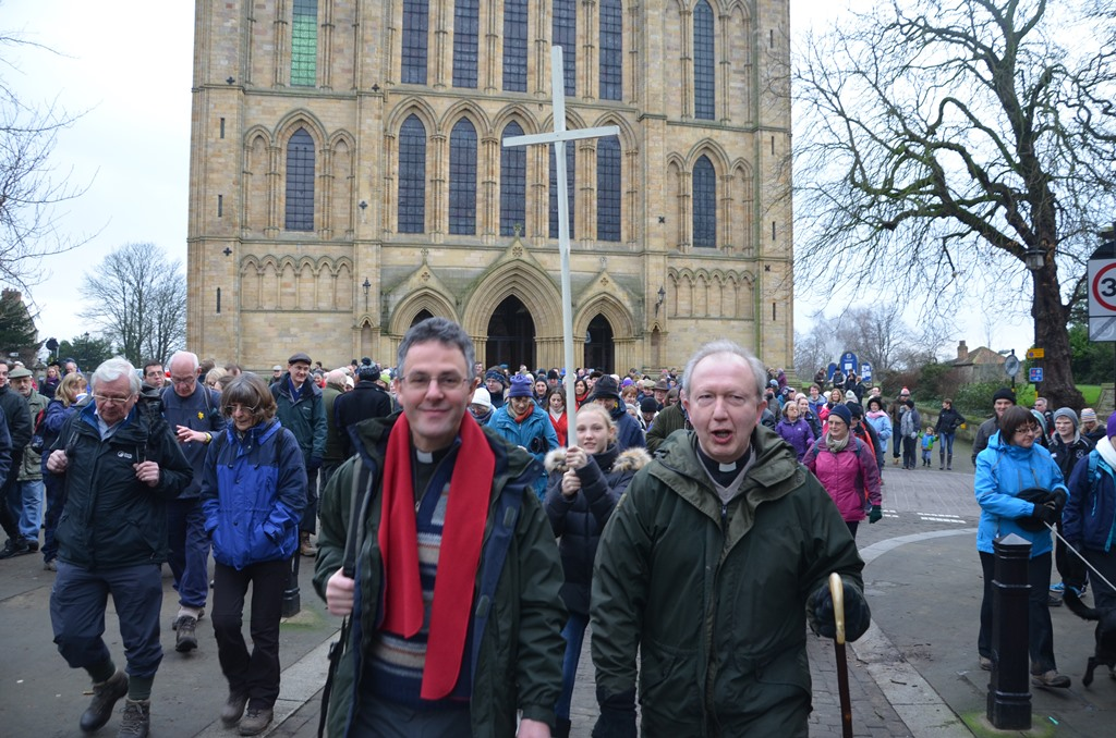 The Boxing Day Pilgrimage sets out
