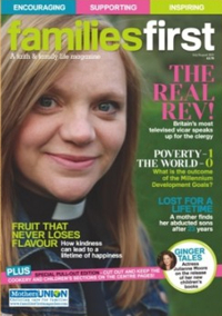 Sample of Families First front cover