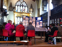 Mothers' Union in Huddersfield praying against gender violence