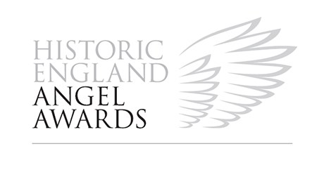 Logo for the Historic England Angel Awards
