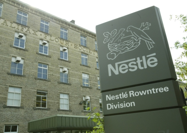 Nestle factory in Halifax