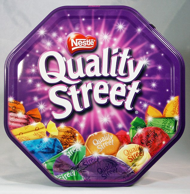 Box of Quality Streets