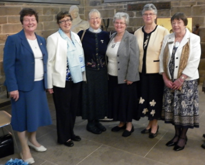 6 past presidents of Wakefield Diocese Mothers' Union