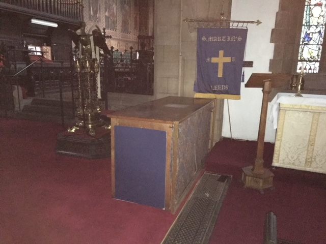 photo of altar