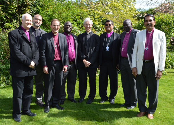 Bishops with Robert Willis, Dean of Canterbury