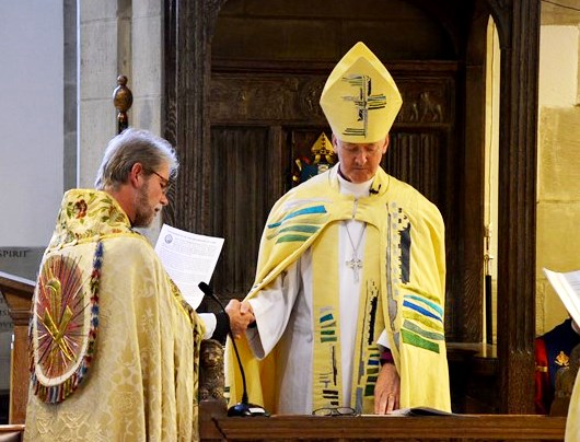 The Enthronement at Bradford Cathedral