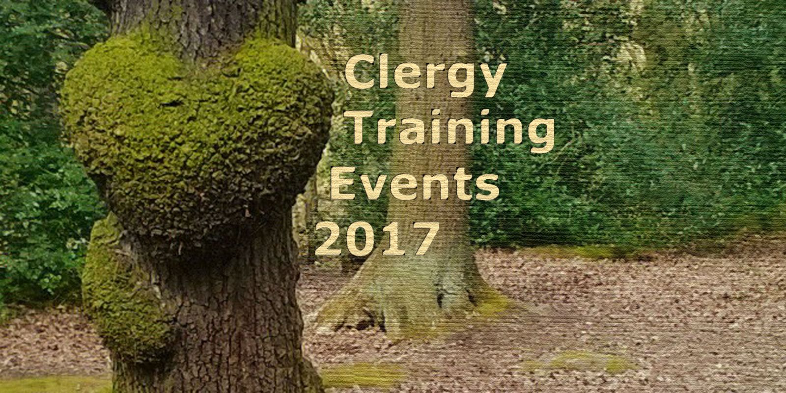 Clergy Training Events Brochure