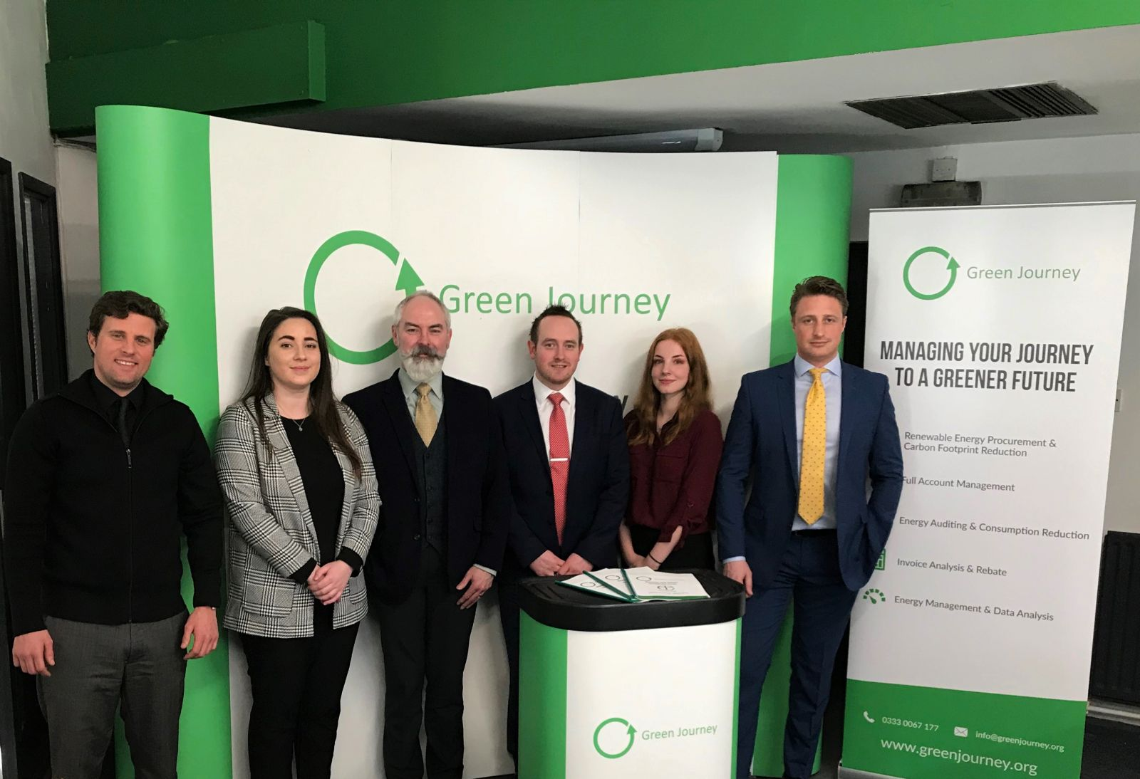 The Green Journey Ecclesiastical Team at Green Energy Consulting