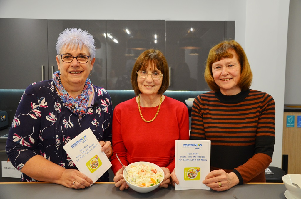 New Food On A Budget Mu Recipe Book Goes To Food Banks
