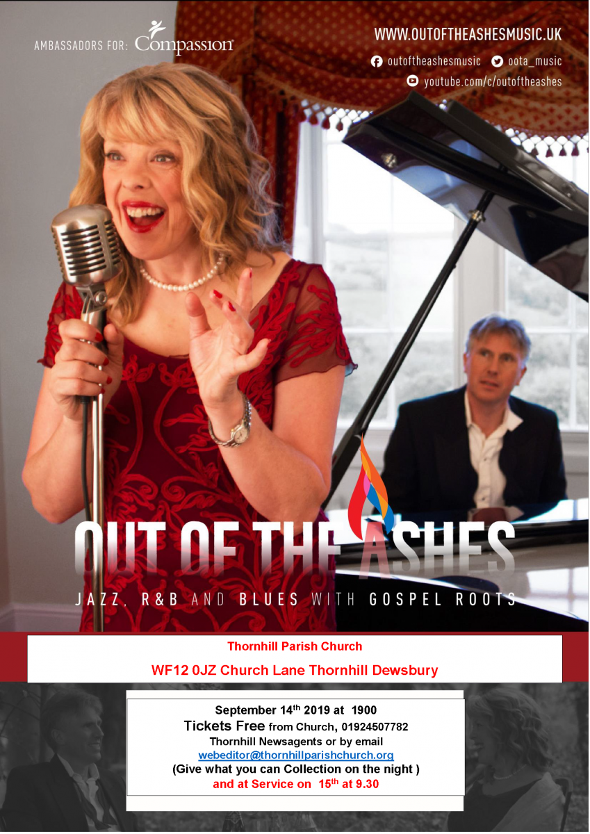 Out of the Ashes: Jazz, R&B and Blues | The Diocese of Leeds