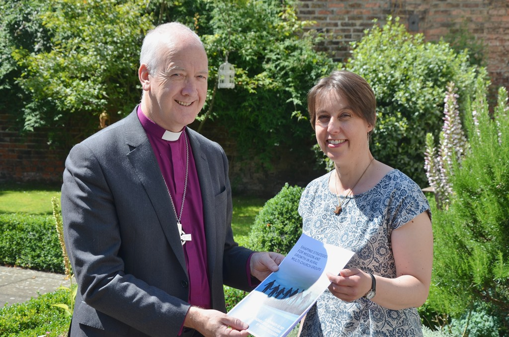 Bishop Nick Baines and Jill Hopkinson