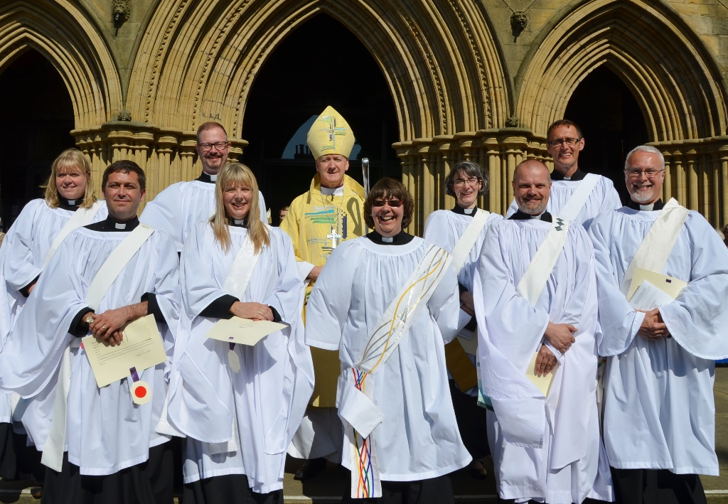 Deacons at second Ripon service