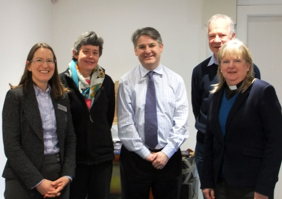 Shipley MP with church leaders