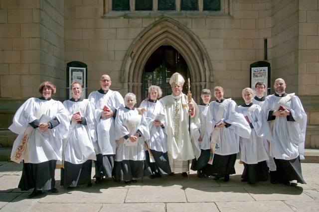 Wakefield Cathedral deacons