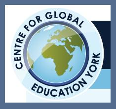 North Yorkshire and East Riding Global Education logo