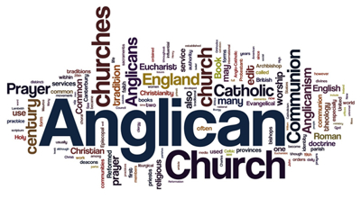 Anglican wordle