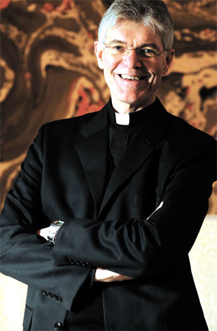 The Very Revd Lister Tonge, image thanks to South Wales Argus