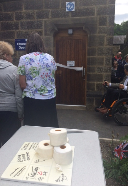 Opening of Farsley Changing Places Toilet