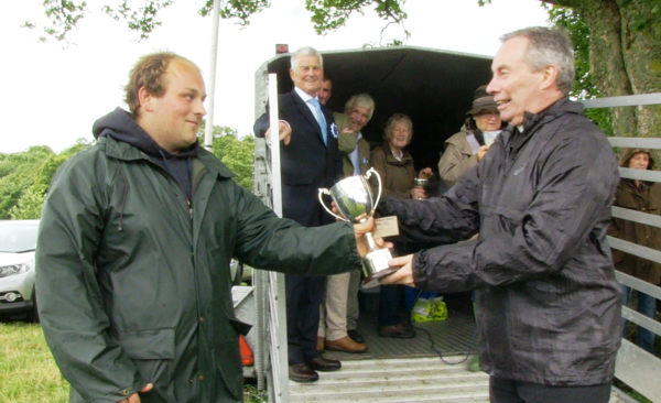 St Andrew's Cup presented at Gargrave Show