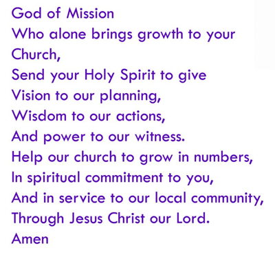 Church Growth Prayer
