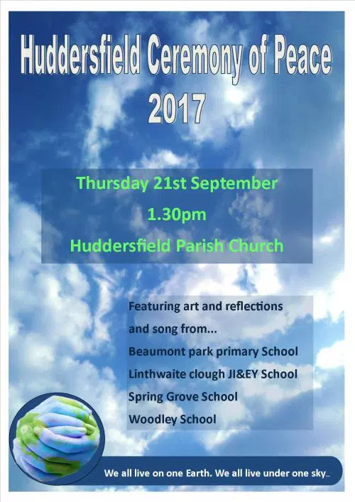 Huddersfield Ceremony of Peace