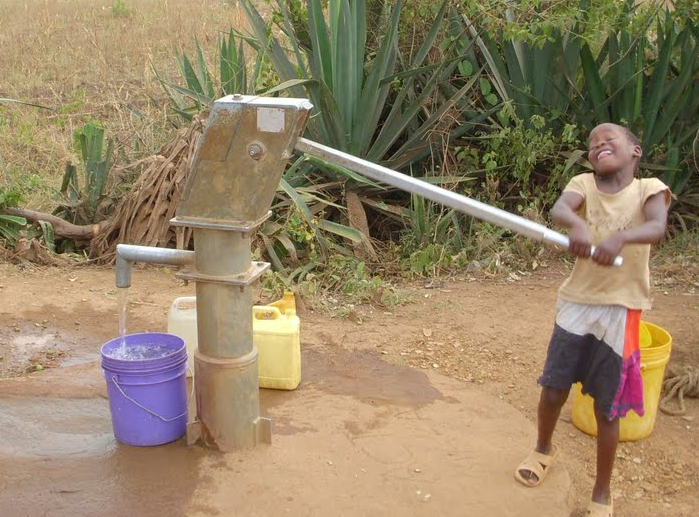 The joy of clean water