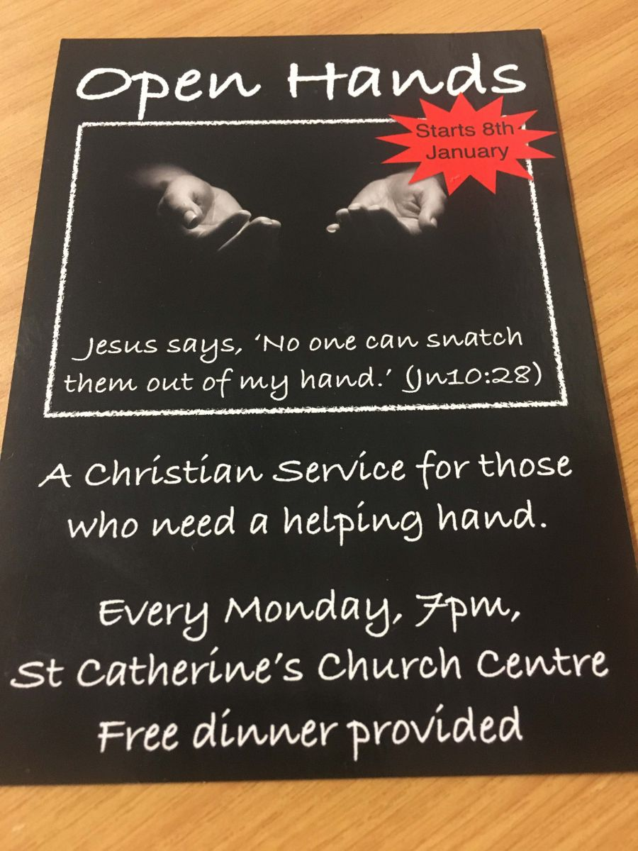 Open Hands Is New Service For Those Needing Help In