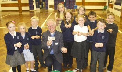Richard Steek at Kirkheaton School