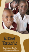 Talking Tanzania leaflet cover