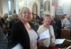 worship together as Christ church Woodhouse and Christ Church academy forge links together