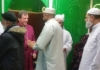 Bishop Tony speaks on community cohesion in Mosque after prayers