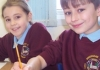 Birkenshaw pupils poised to paint their posters