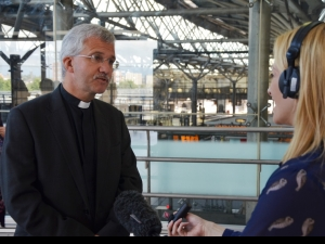 Jonathan Gibbs interviewed at Leeds station
