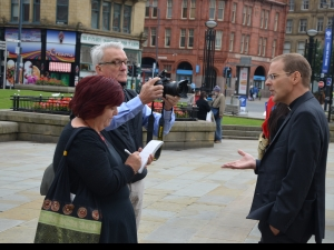 Interviews and pictures for the Bradford Telegraph and Argus newspaper