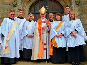 New deacons ordained by Bishop Tom at Bradford Cathedral