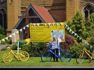 St Mark's Harrogate put out the bunting and welcome visitors in