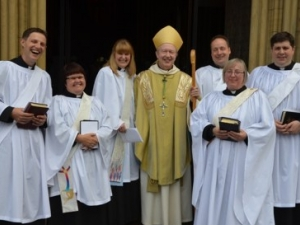 New deacons ordained by Bishop James at Ripon Cathedral