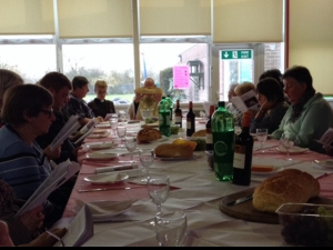 Re-enacting and re-imagining the last supper at Seacroft parish, East Leeds