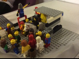 Recreating Lego Easter at Seacroft Parish, East Leeds