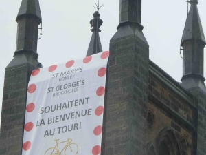 St Mary's, Honley welcomes le Tour - in French of course!