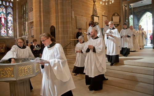 New Deacons at Wakefield Cathedral