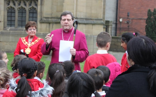 Bishop Tony - why are we planting poppies?