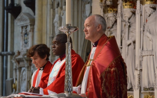 The Archbishop of York and Bishop Nick