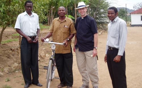 St Philip & St James' Church, Scholes raise money to send bikes to link church in Tanzania