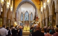 People gathered in Bradford Cathedral to welcome Bishop Nick