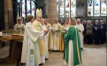 The Bishop of Leeds blesses the oil for the anointing of the sick and dying