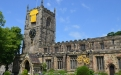 Holy Trinity Skipton sports a giant yellow jersey to flag up its Festival for le Grand Depart
