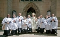 New deacons ordained by Bishop Tony at Wakefield Cathedral
