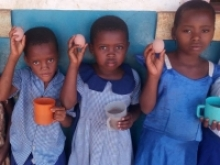 Going to school on an egg is the latest campaign for volunteer led charity the Funzi and Bodo Trust